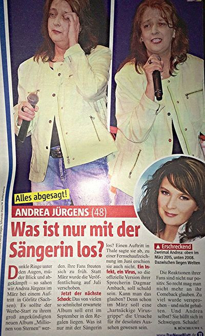 Andrea Jürgens Hochzeit Mit Ralf Stiller  Andrea Jürgens FanPage Boulevard Presse