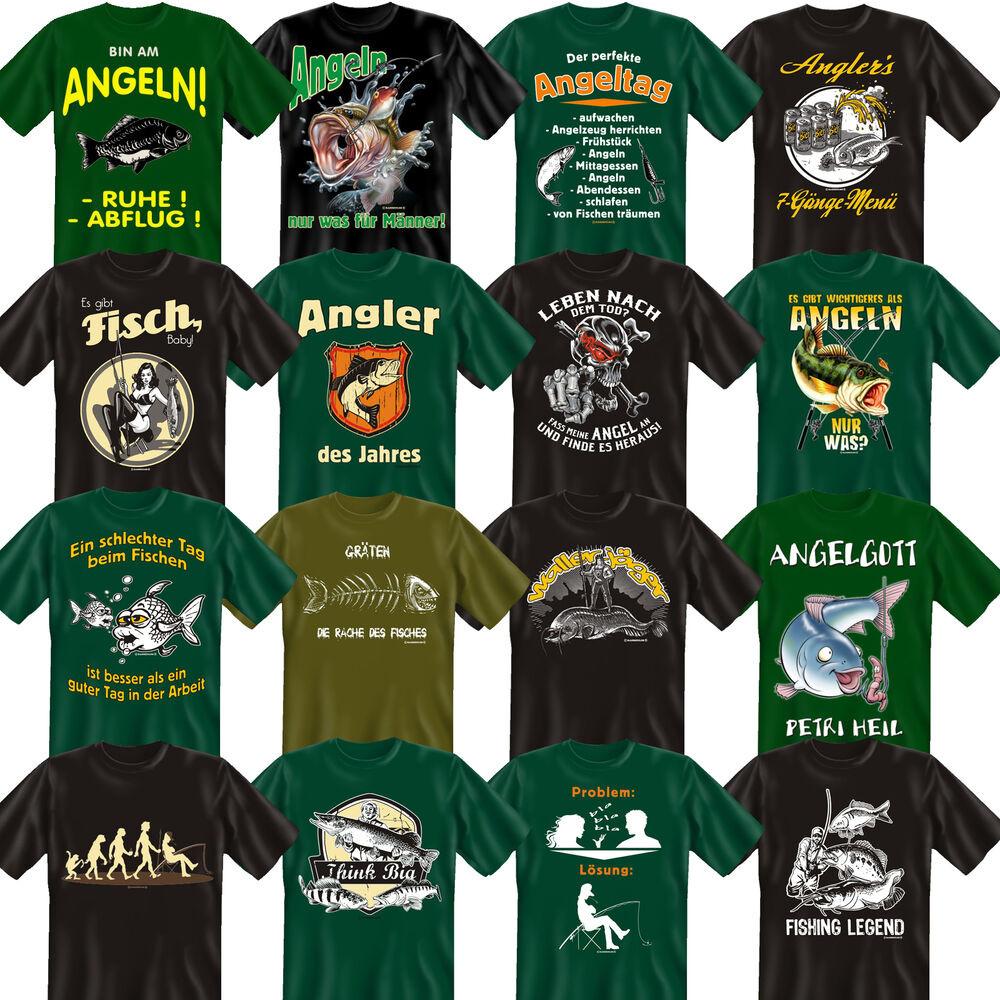 Angel Geschenke  Angler Fun T Shirt cooles Fun Shirt Angel Angelsport
