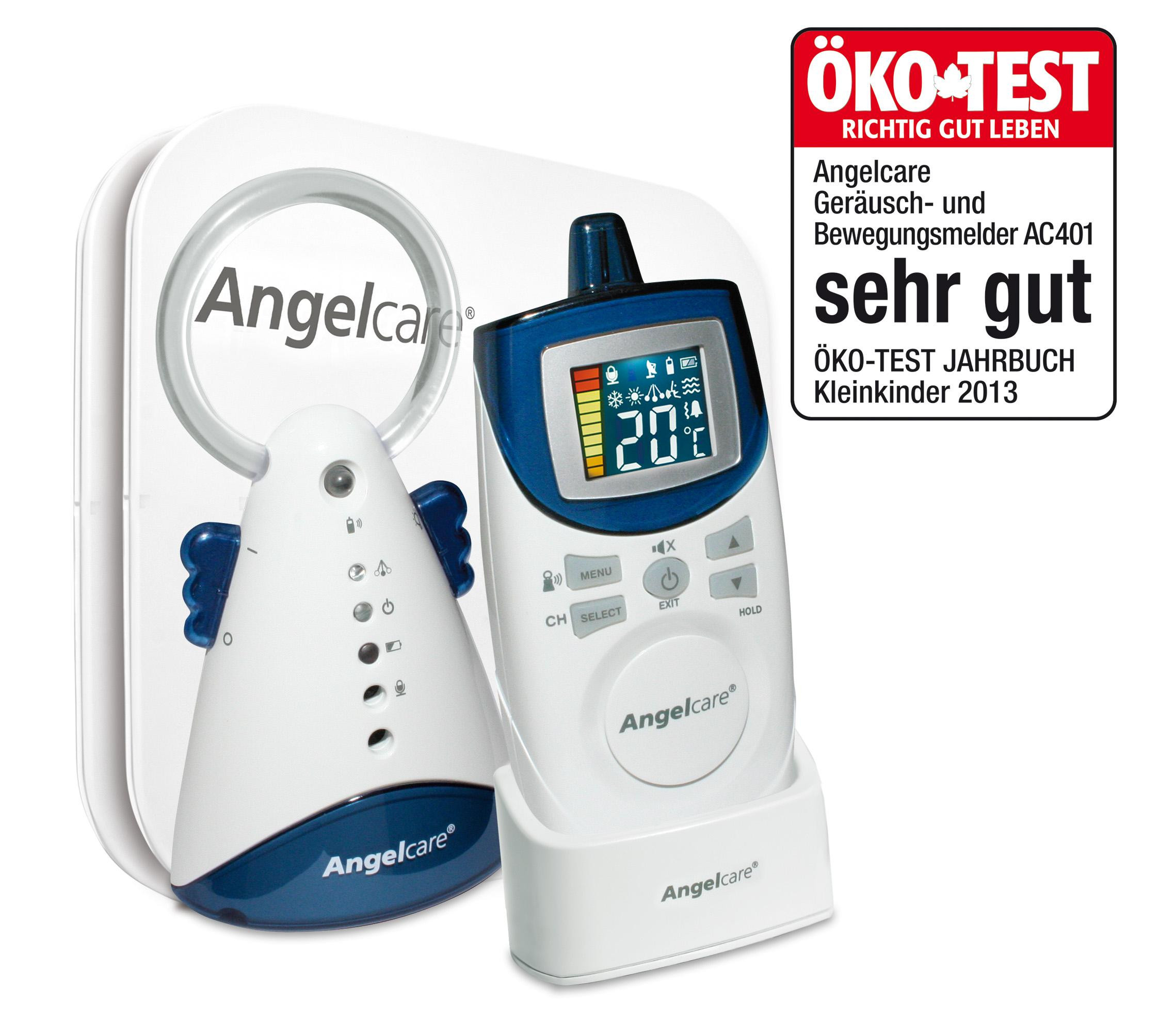 Angelcare Matte  Angelcare Babyphon Bewegungsmelder AC 401 Amazon Baby