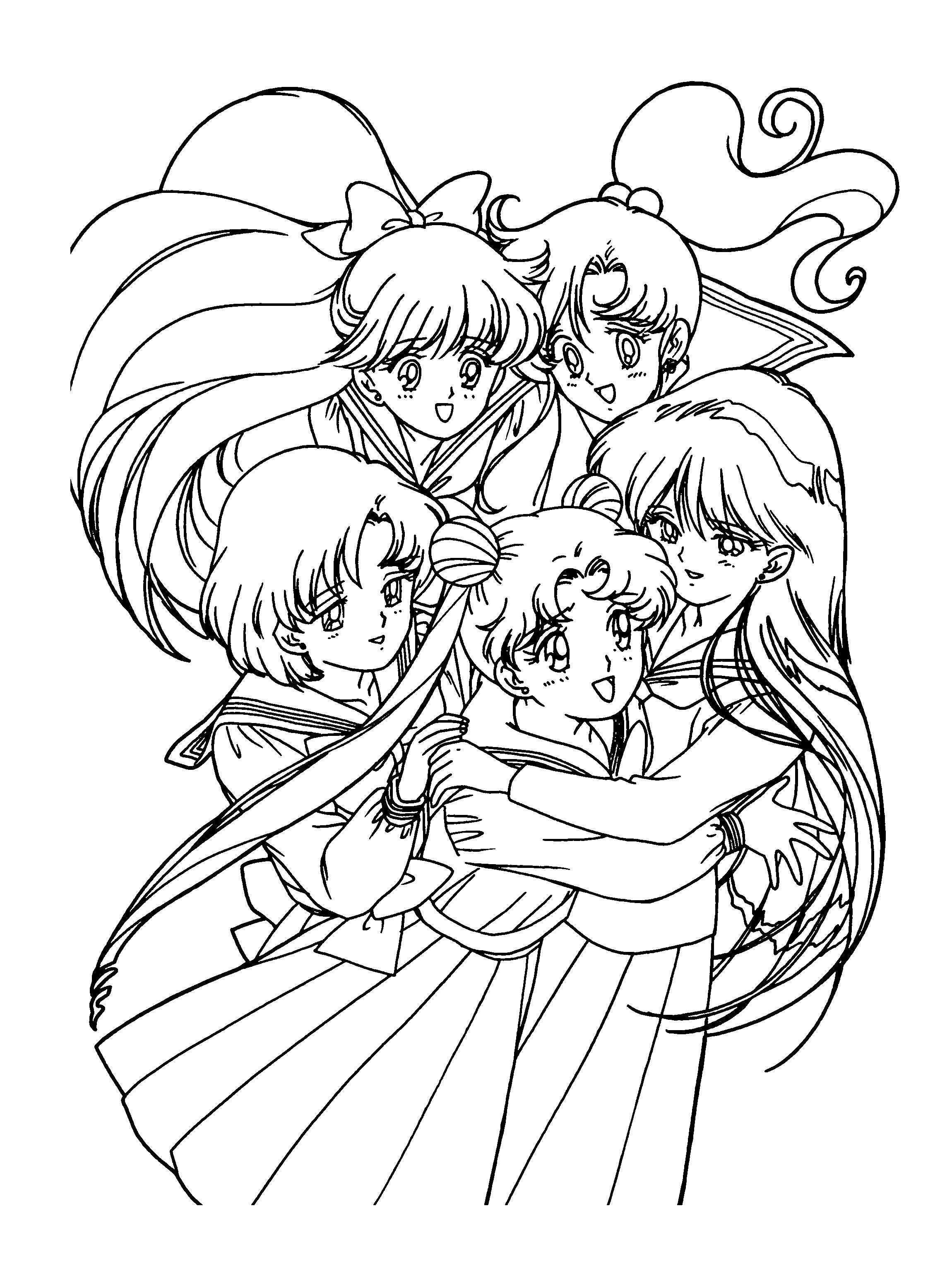 Anime Ausmalbilder Chibi  Anime Marchen Malvorlagen frankieis