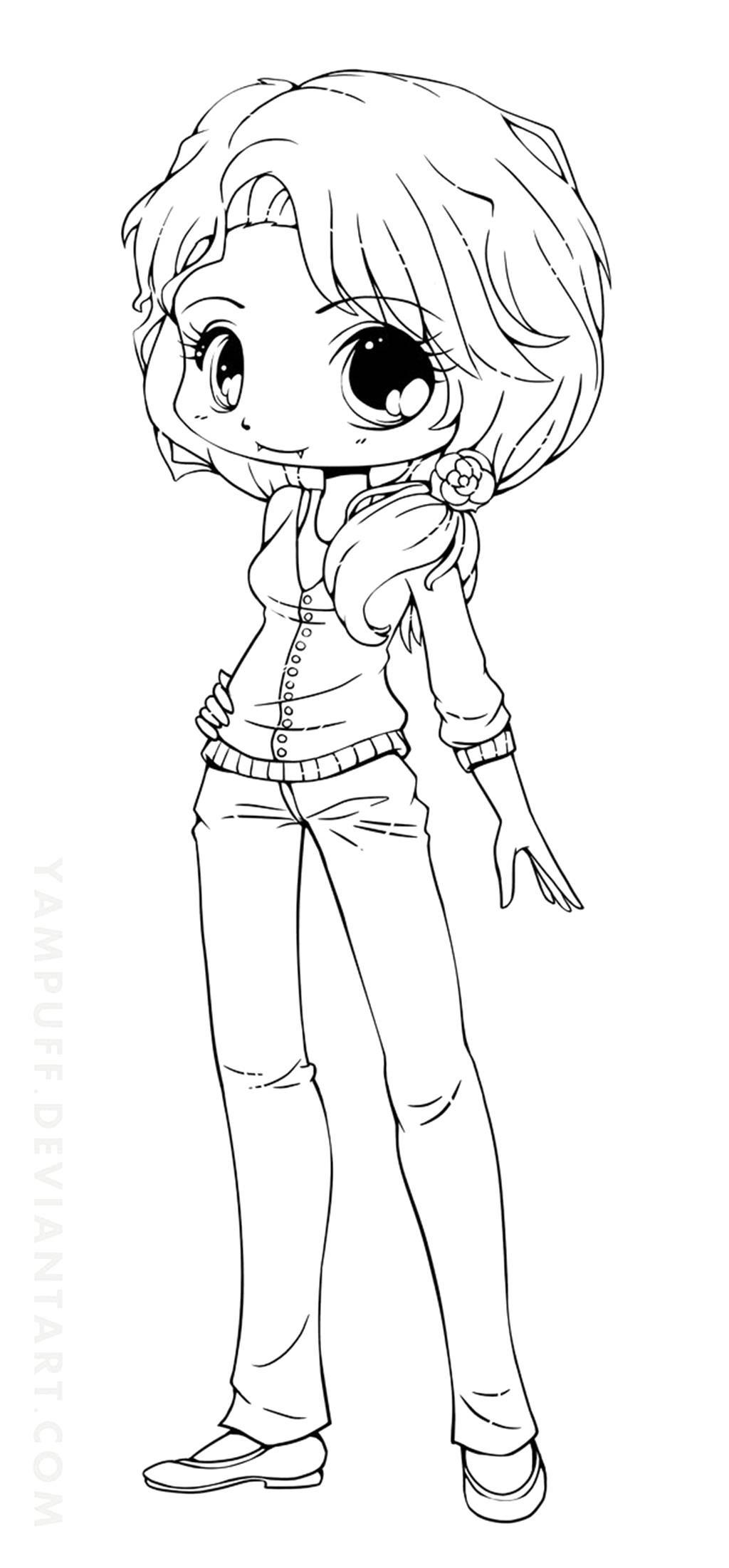 Anime Ausmalbilder Chibi  Brillant Anime Ausmalbilder Chibi 88 Für dein Malvorlagen