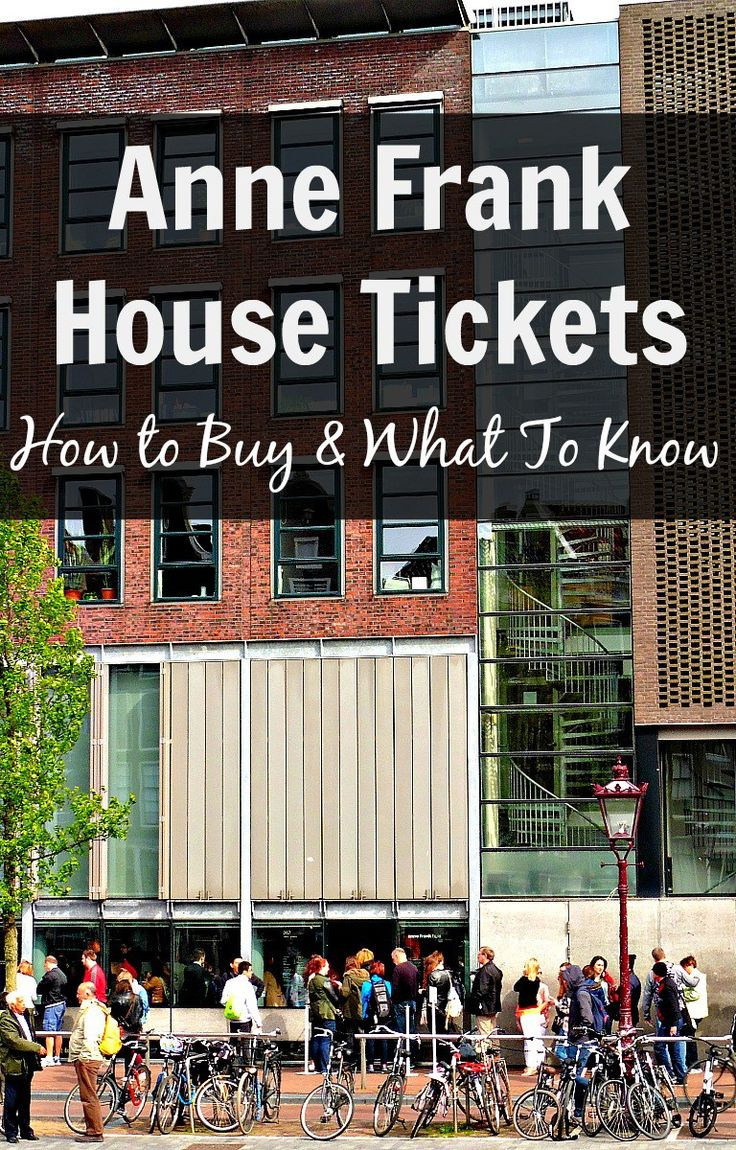 Anne Frank Haus Amsterdam Tickets  Best 25 Amsterdam info ideas on Pinterest
