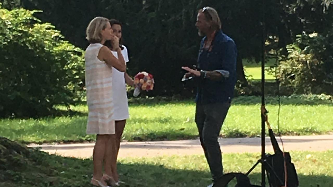 Anne Will Hochzeit Bilder  TV Star Anne Will BILD zeigt Fotos ihrer heimlichen