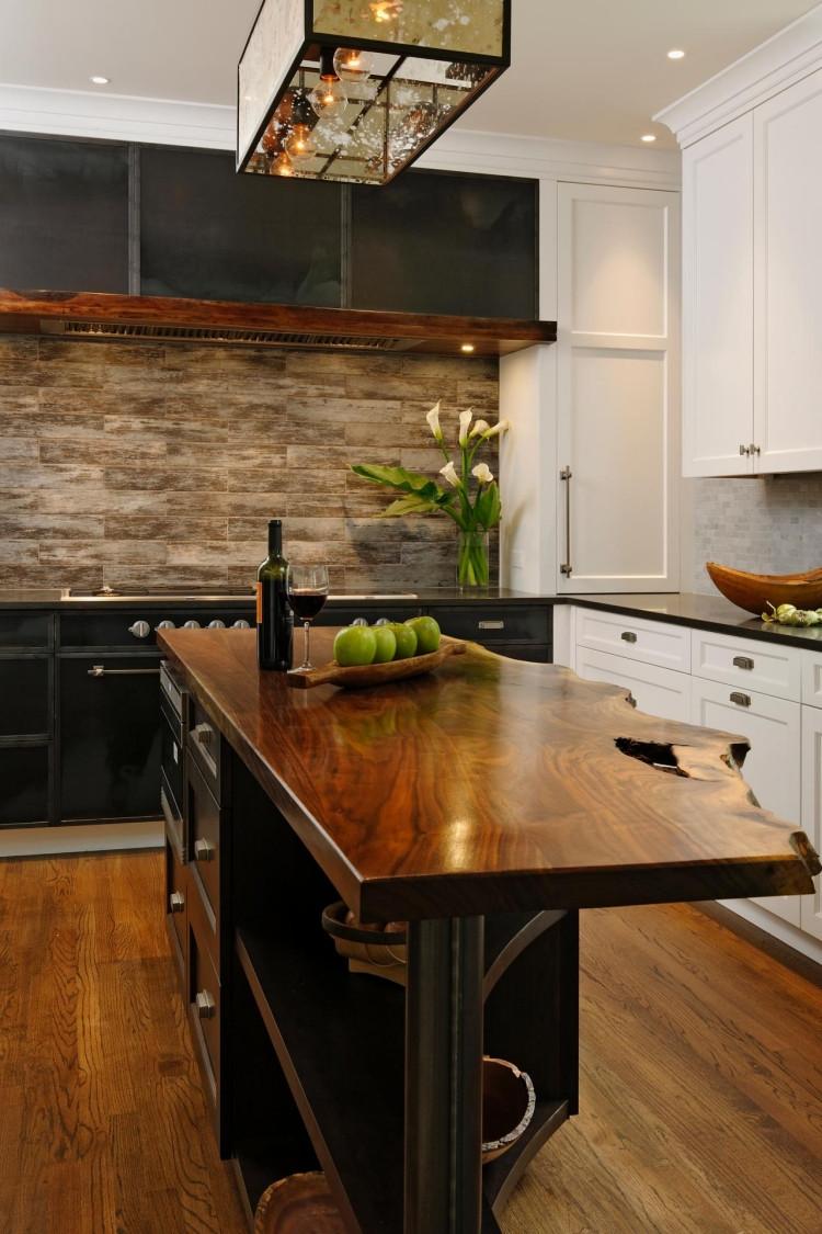 Arbeitsplatten Küche  Arbeitsplatte KUche Holz Dunkel – Bvrao