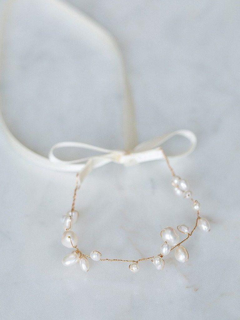 Armband Hochzeit  Armband für Hochzeit Gold mit Perlen Zosia – noni
