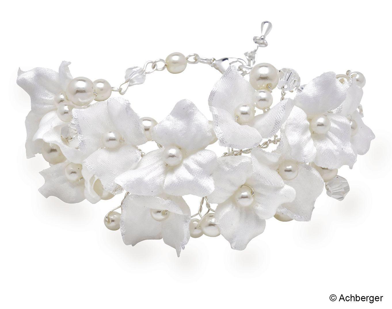 Armband Hochzeit  Hochzeit Armband Sandra Armbänder Armbänder Perlen