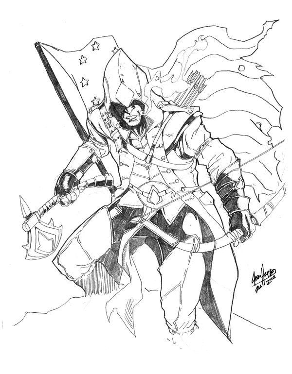 Assassins Creed Ausmalbilder  146 best images about Coloriage ASSASSIN S CREED on
