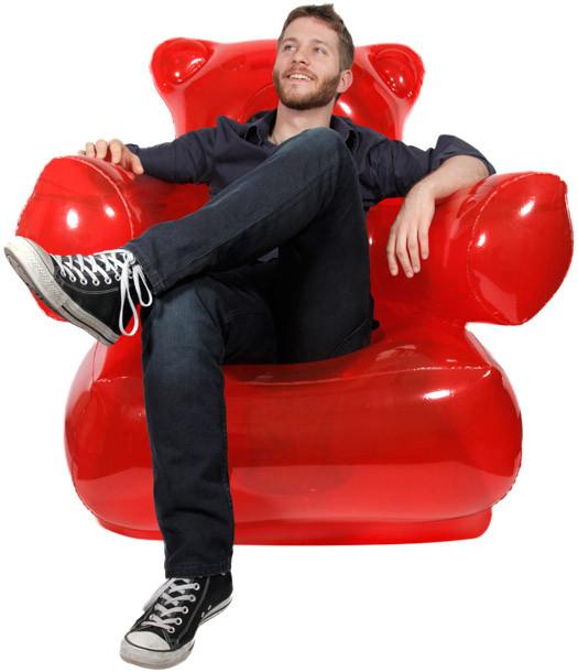 Aufblasbarer Sessel  Aufblasbarer Gummibär Sessel Gad s und Geschenke