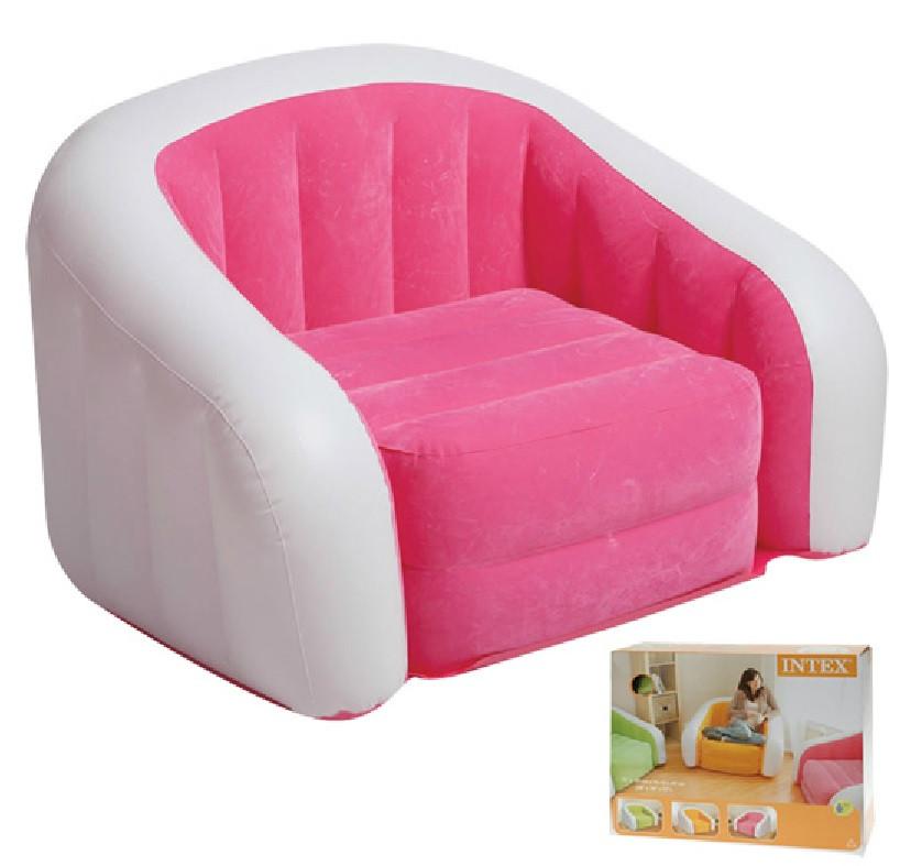 Aufblasbarer Sessel  Wenn Sie es satt haben zuhause immer im Sessel oder auf