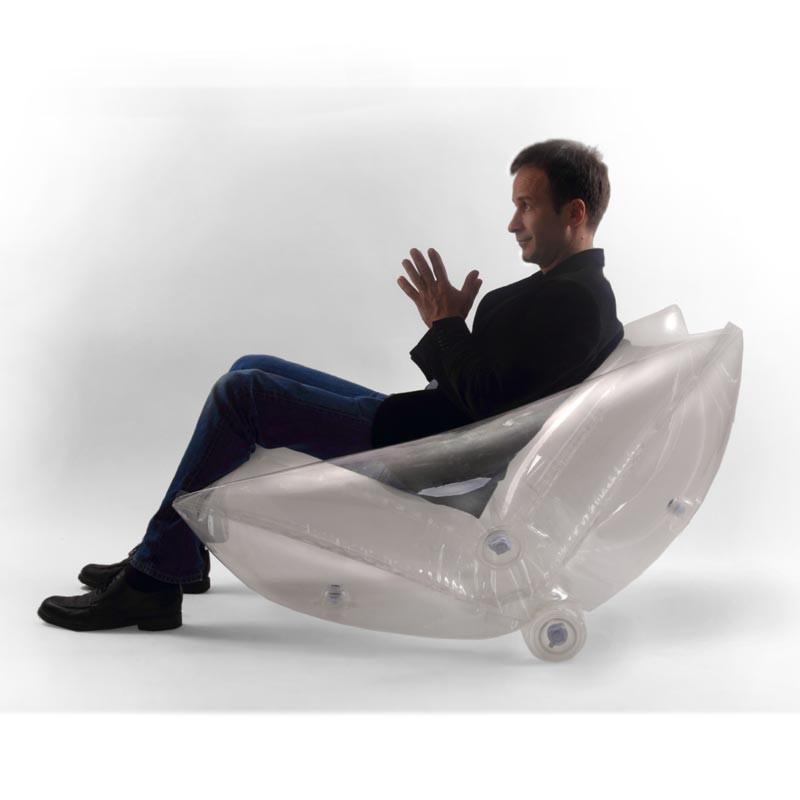Aufblasbarer Sessel  QUATTROPARTE inflatable chair
