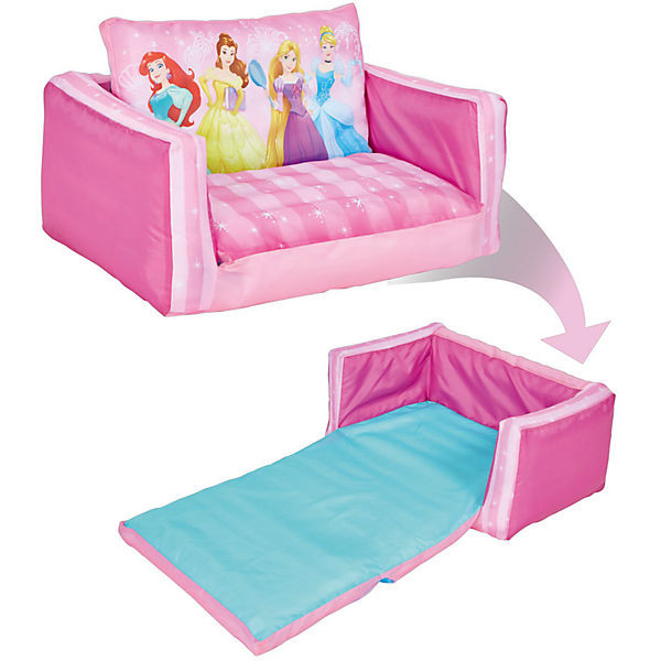 Aufblasbares Sofa  Aufblasbares Sofa Disney Princess ausklappbar Disney