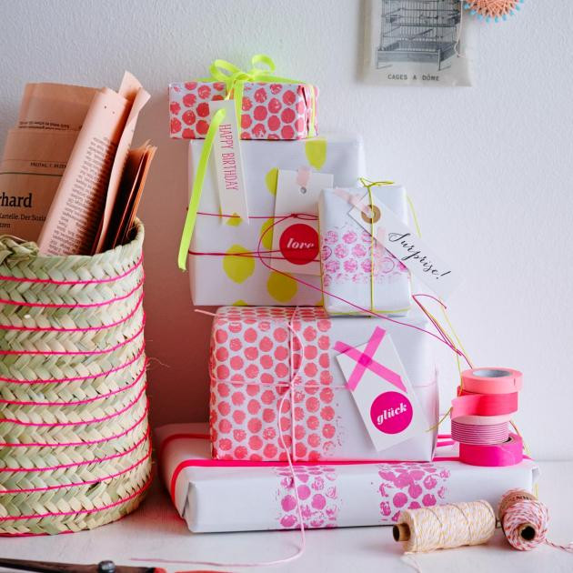 Ausgefallene Geschenke Selbst Machen  Geschenkideen Zum Selber machen und kaufen [LIVING AT