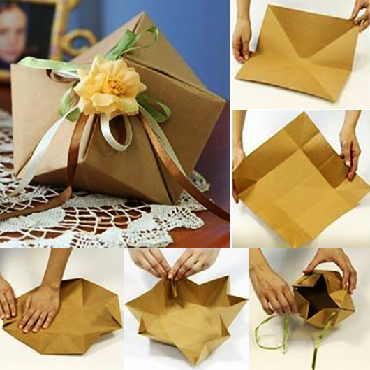 Ausgefallene Geschenke Selbst Machen  Geschenkverpackung basteln und Geschenke kreativ verpacken
