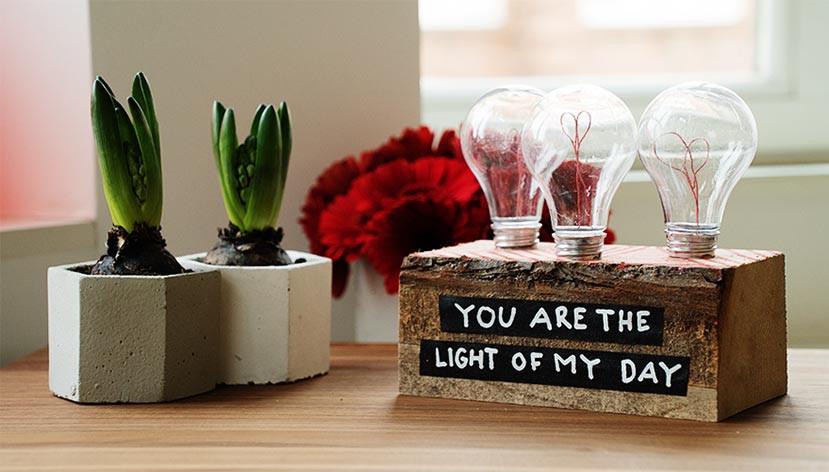 Ausgefallene Geschenke Selbst Machen  Valentinstag Geschenke selber machen Für sie und ihn