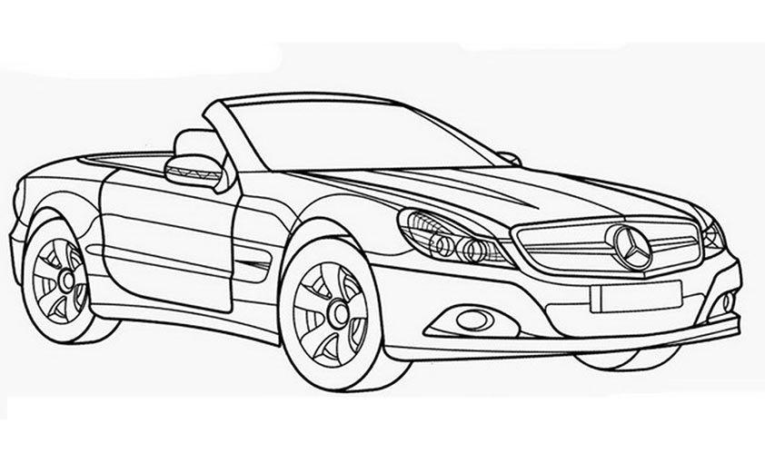 Ausmalbilder Auto  Ausmalbilder Mercedes 463 Malvorlage Autos Ausmalbilder