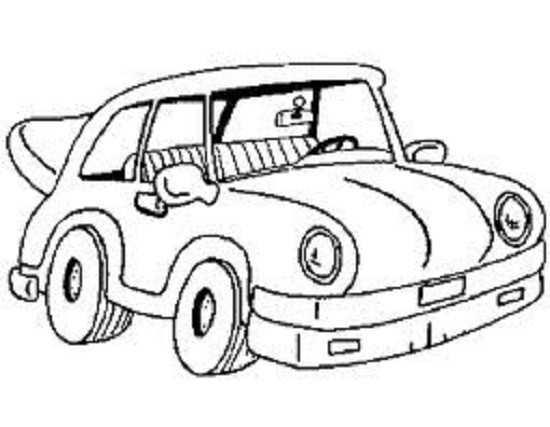 Ausmalbilder Auto  Autos ausmalbilder 4