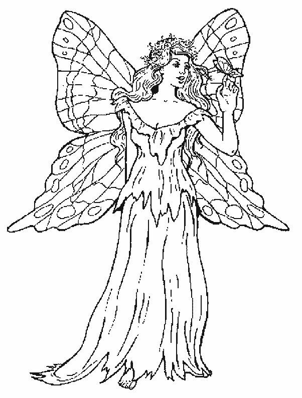 Ausmalbilder Elfe  Ausmalbilder feen und elfen kostenlos Malvorlagen zum