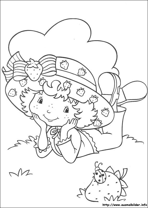 Ausmalbilder Emily Erdbeer  Emily Erdbeer malvorlagen