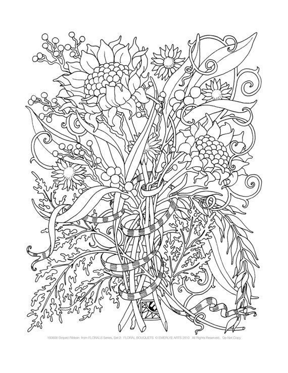 Ausmalbilder Erwachsene Natur  Top 15 Ausmalbilder Für Erwachsene Blumen Ausmalbilder