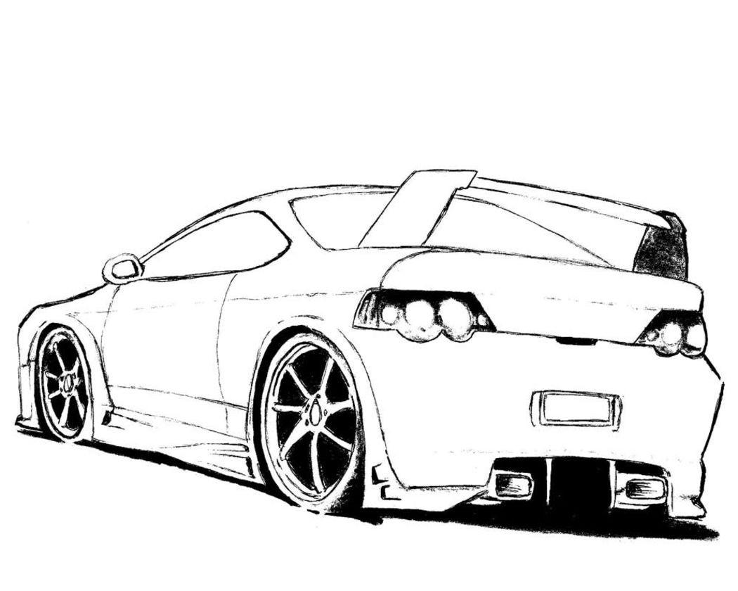 Ausmalbilder Fast And Furious  Carros Para Colorear Dibujos Imagixs