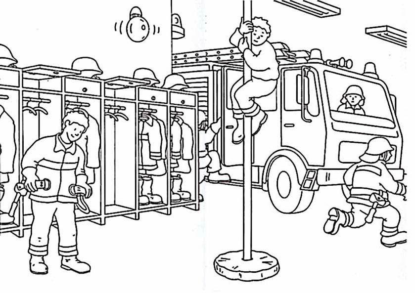 Ausmalbilder Feuerwehrauto  feuerwehr ausmalbilder zum drucken