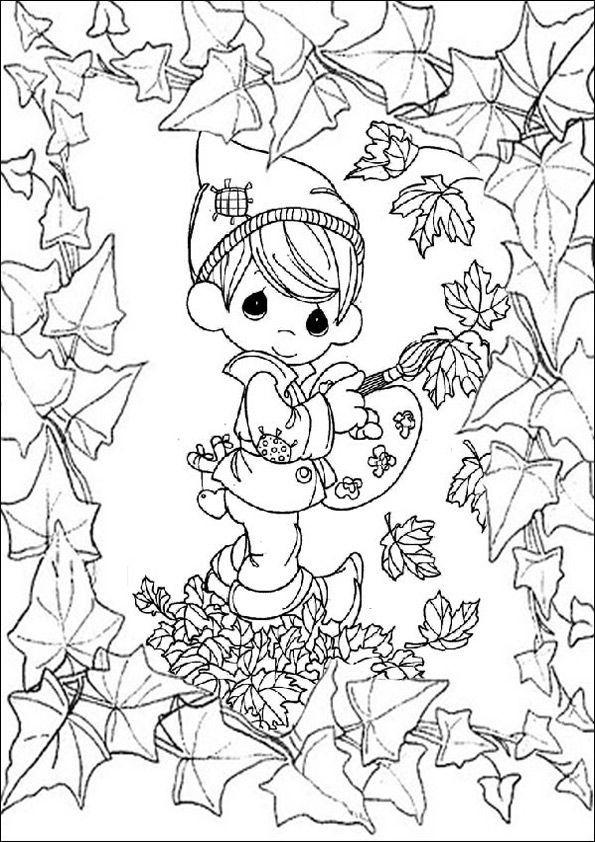 Ausmalbilder Für Erwachsene Herbst  25 einzigartige Ausmalbilder herbst Ideen auf Pinterest