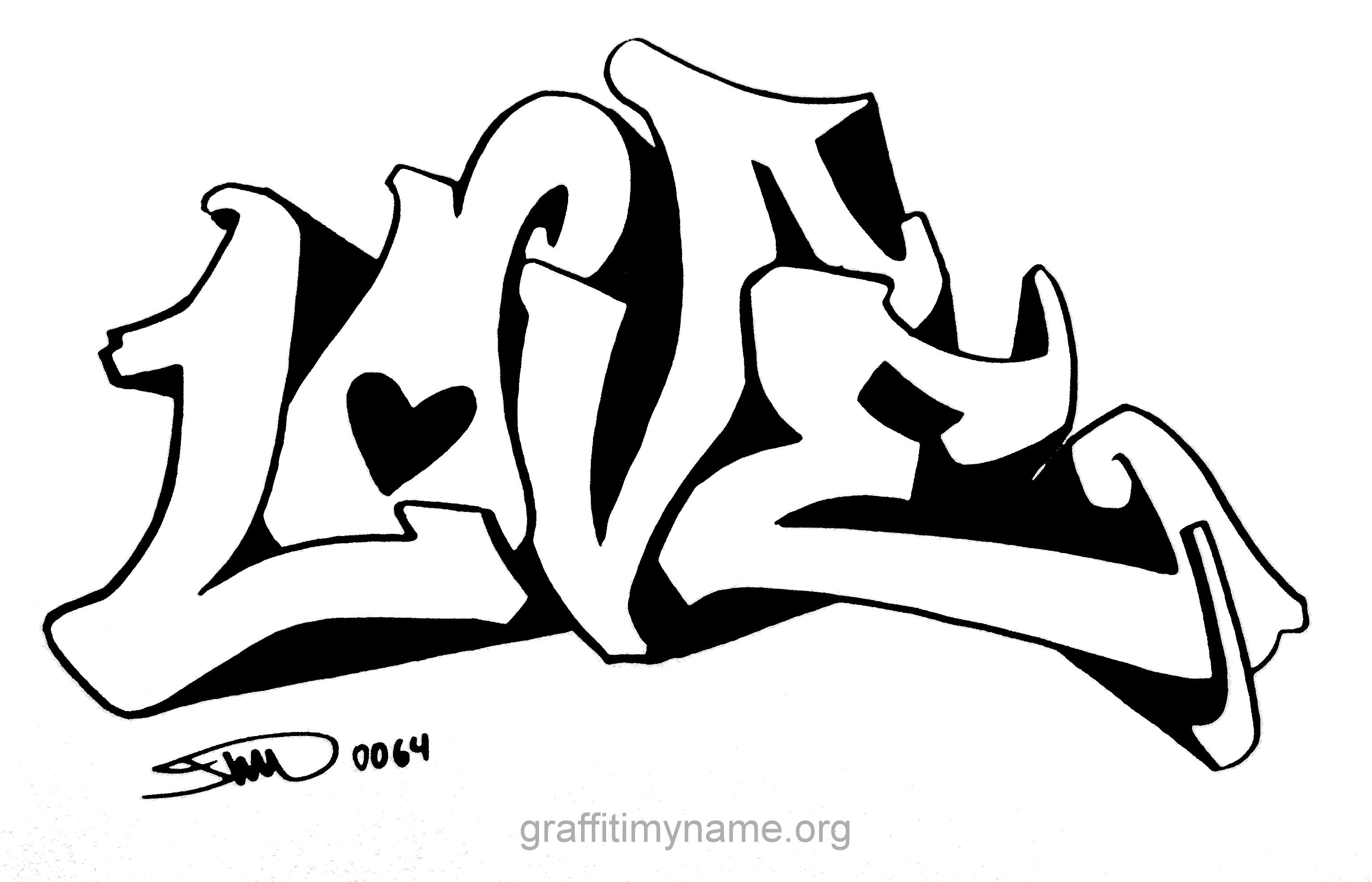die besten ideen für ausmalbilder graffiti love  beste