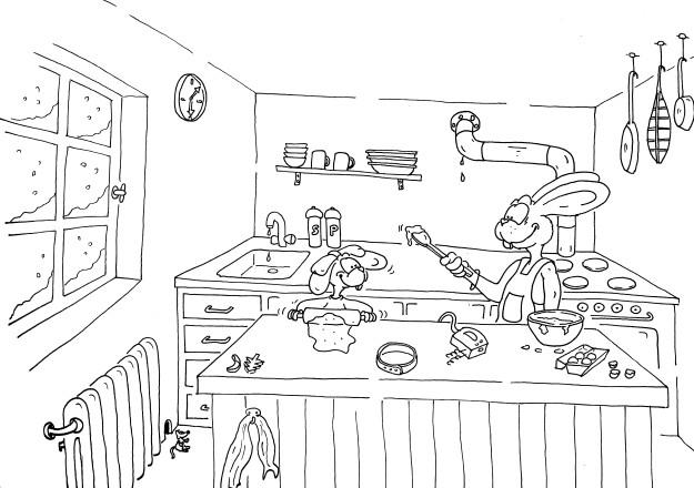 20 besten ausmalbilder hasenfamilie  beste wohnkultur