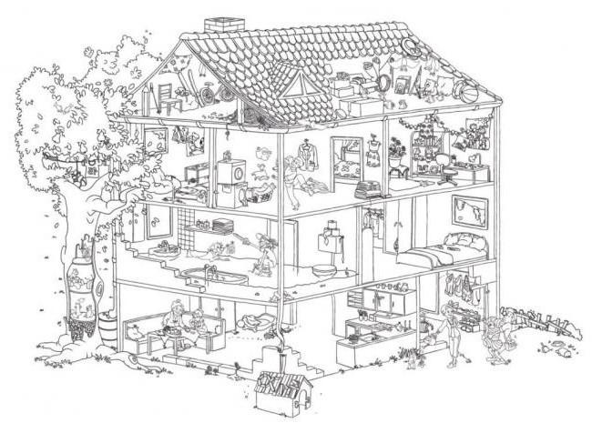 20 besten ideen ausmalbilder häuser  beste wohnkultur