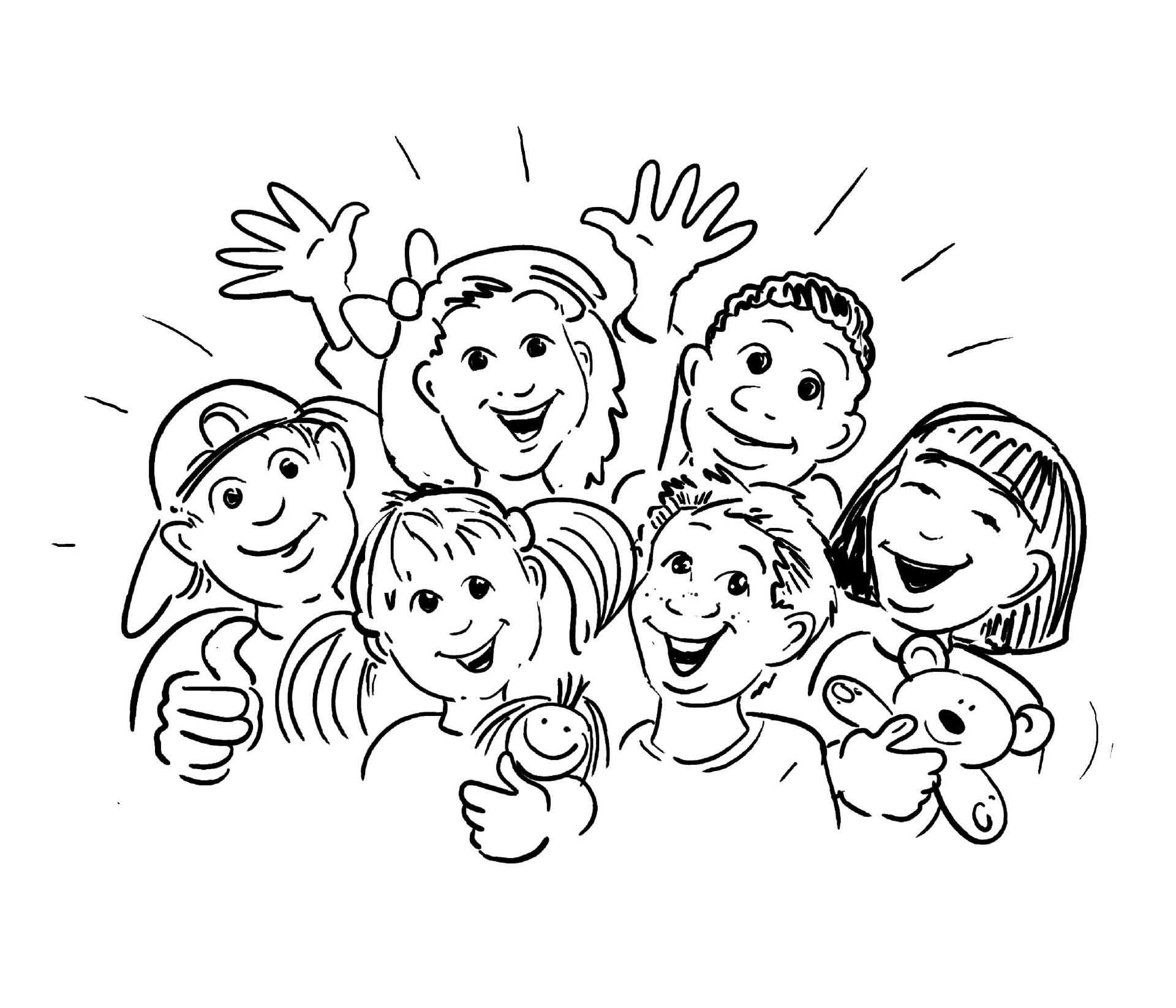Ausmalbilder Kinder  Ausmalbilder kindern kostenlos Malvorlagen zum