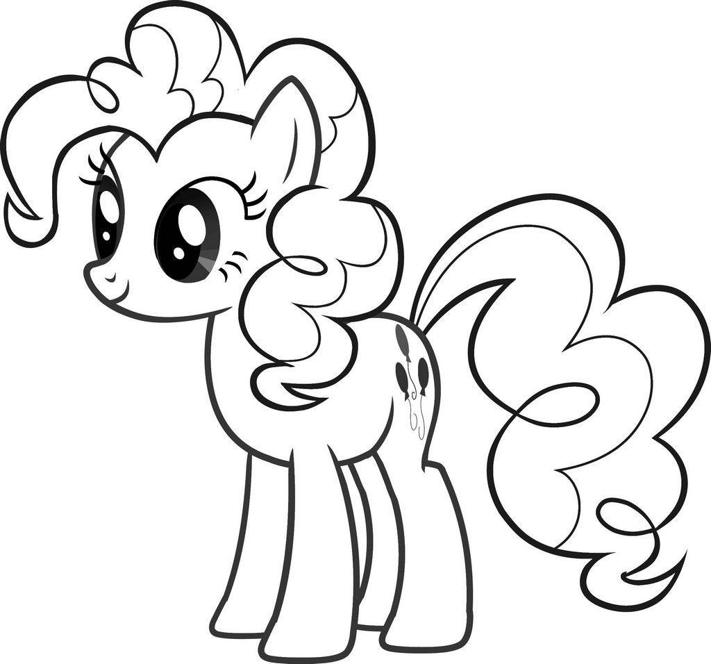 Ausmalbilder Kinder  pony ausmalbilder zum ausdrucken – Ausmalbilder für kinder