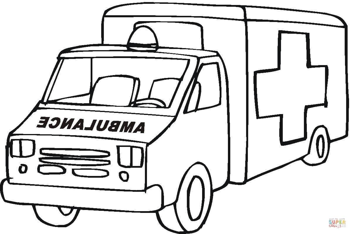 20 der besten ideen für ausmalbilder krankenwagen  beste