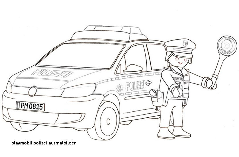 ausmalbilder polizeiboot