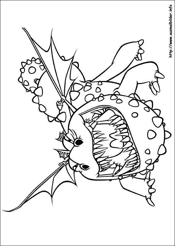 Ausmalbilder Leicht  20 Ideen Für Drachen Zähmen Leicht Gemacht Ausmalbilder