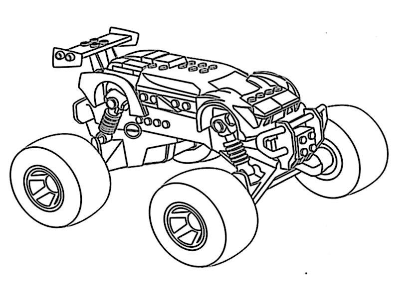 Ausmalbilder Monster Truck  ausmalbilder monster truck 2