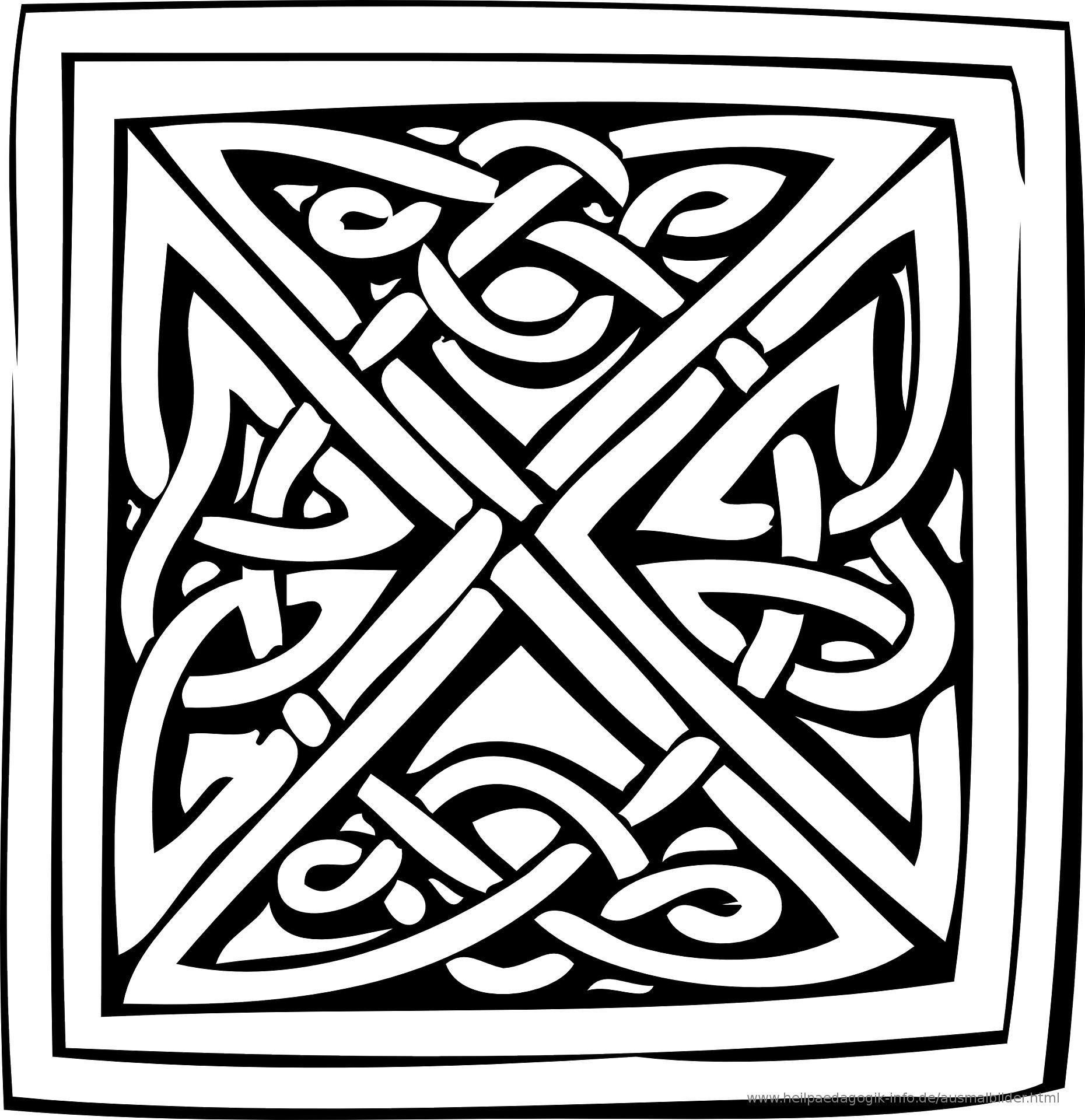 Ausmalbilder Muster  Ausmalbilder Muster