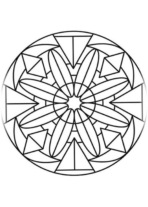 Ausmalbilder Muster  Malvorlagen zum Ausdrucken Ausmalbilder Muster kostenlos 1