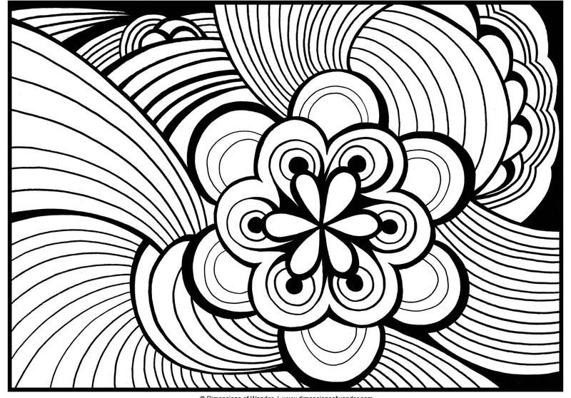 Ausmalbilder Muster  Muster Ausmalbilder für Erwachsene kostenlos zum Ausdrucken 4
