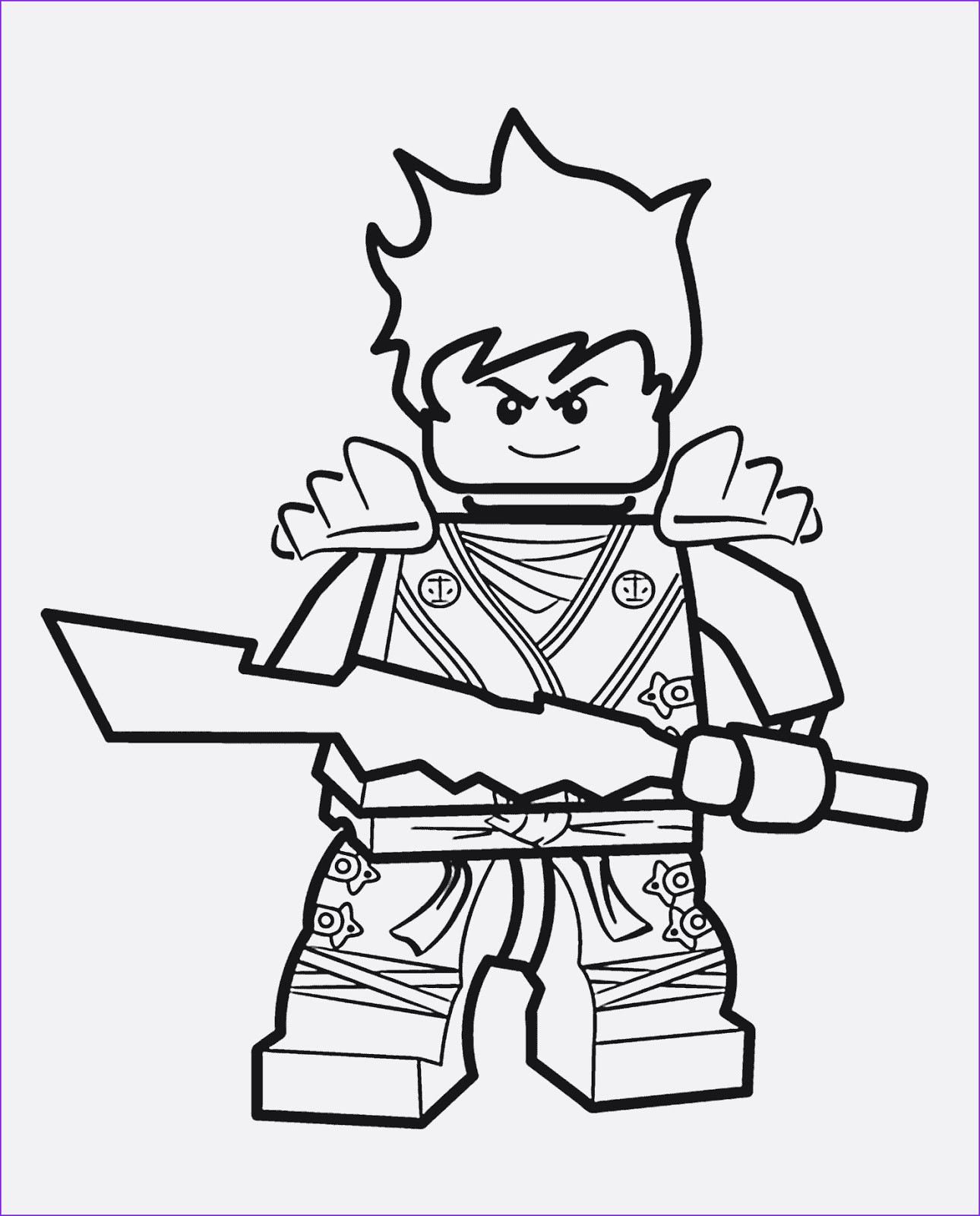 Ausmalbilder Ninjago Lloyd  Ausmalbilder Lego Ninjago Lego Ninjago zum Ausmalen