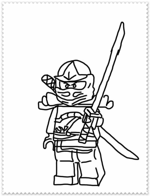 Ausmalbilder Ninjago Pythor  Ausmalbilder zum Ausdrucken Ninjago Ausmalbilder