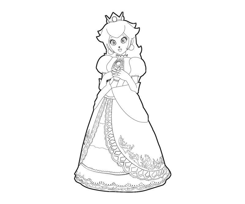 Ausmalbilder Peach  princess peach coloring pages Google Search