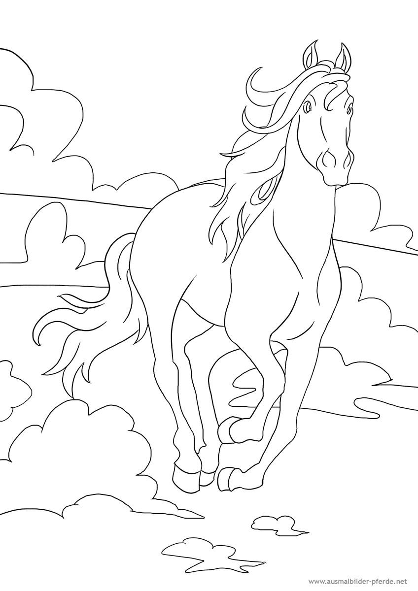 Ausmalbilder Pferd  Ausmalbilder Erstkommunion Malvorlage Gratis