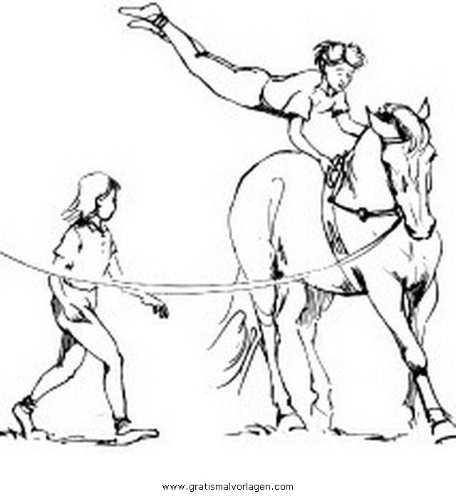 20 der besten ideen für ausmalbilder pferde voltigieren