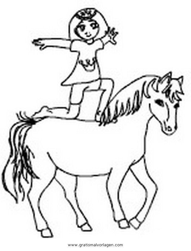 20 Der Besten Ideen Für Ausmalbilder Pferde Voltigieren ...