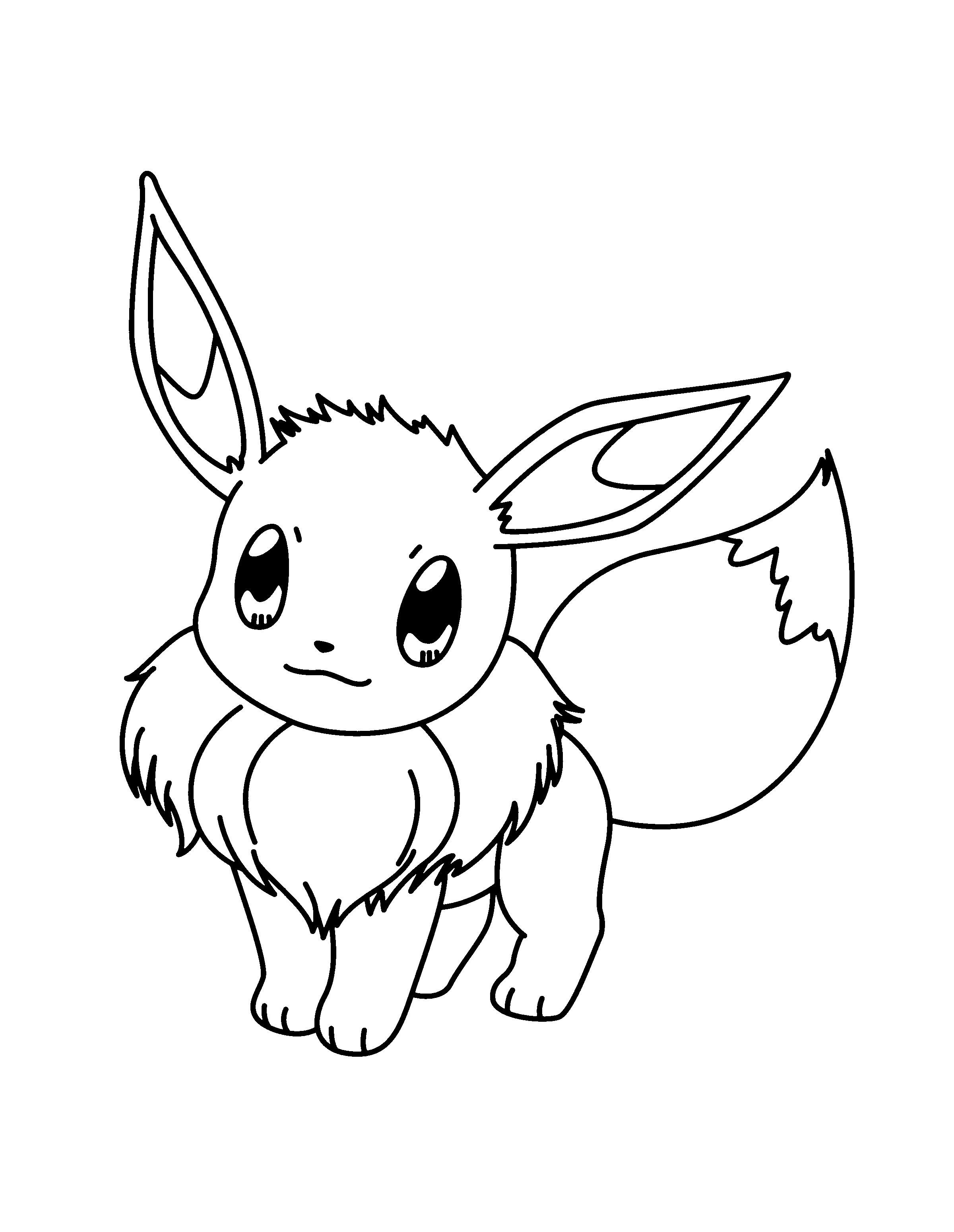 die 20 besten ideen für ausmalbilder pokemon evoli  beste