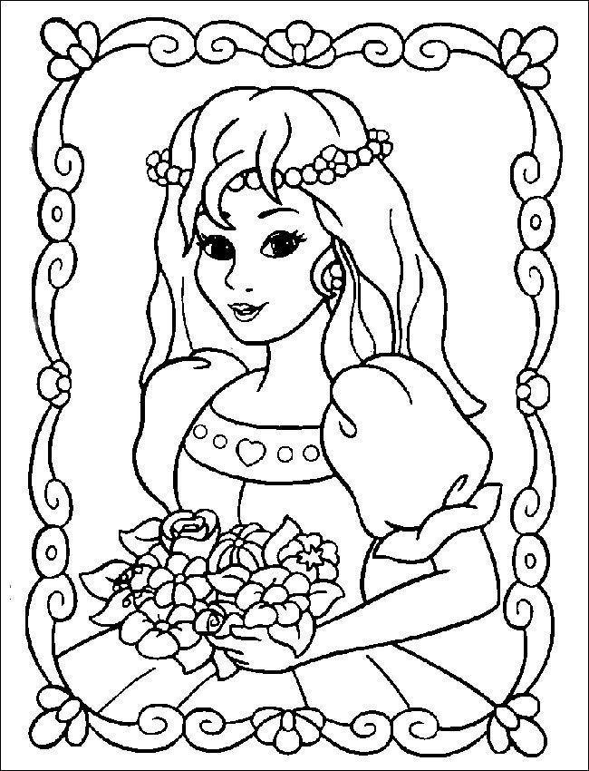 Ausmalbilder Prinzessin Kostenlos  Ausmalbilder Prinzessin 16