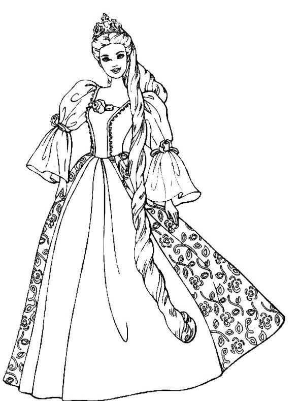 Ausmalbilder Prinzessin Kostenlos  Die besten 25 Prinzessin ausmalbilder Ideen auf Pinterest