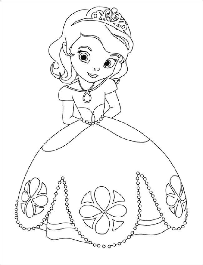 Ausmalbilder Prinzessin Kostenlos  Ausmalbilder Prinzessin 10