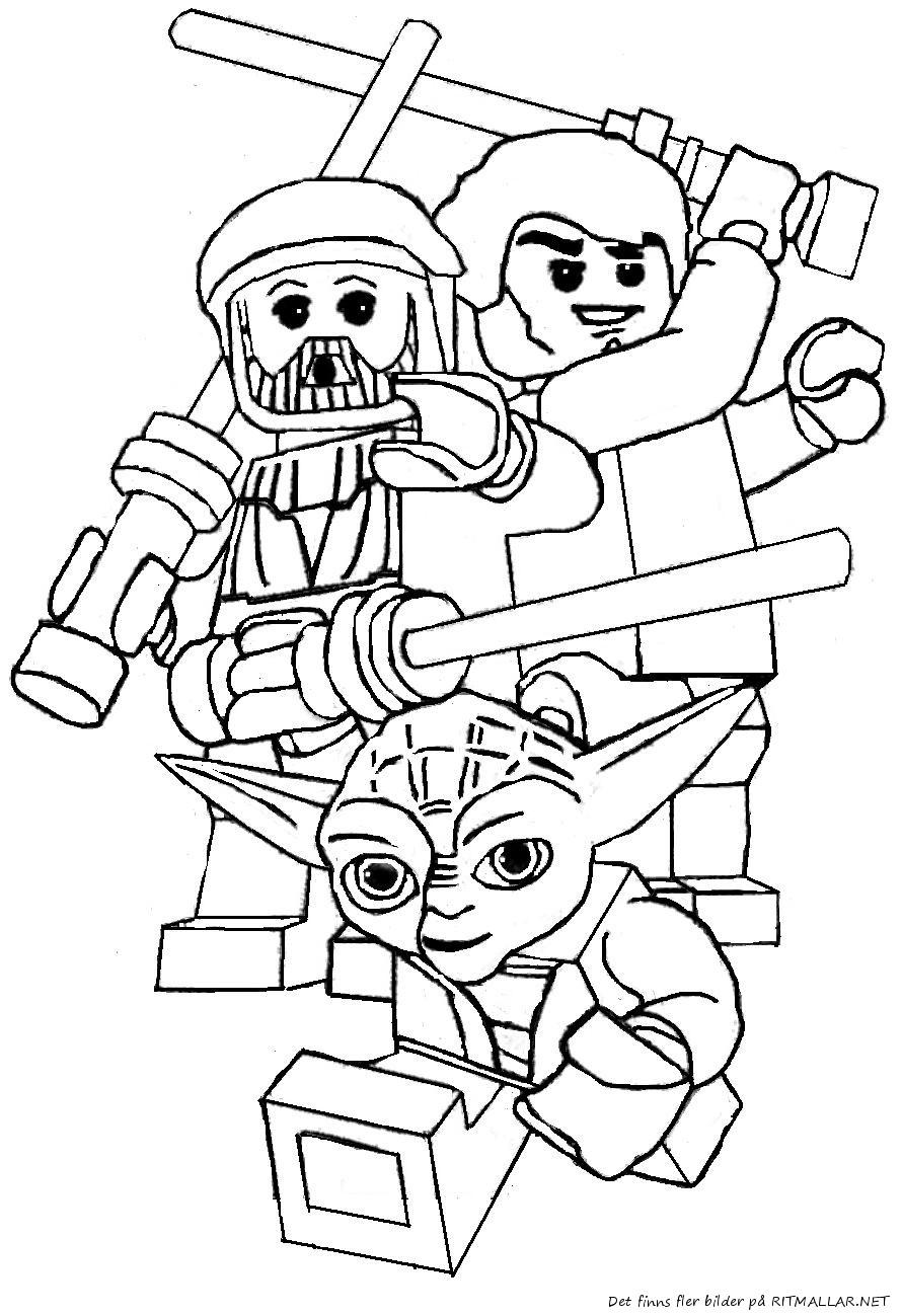 Ausmalbilder Star Wars Lego  Malvorlagen fur kinder Ausmalbilder Lego Star Wars