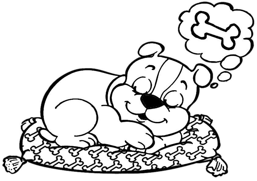Die Besten Ideen Für Ausmalbilder Süße Hunde - Beste ...